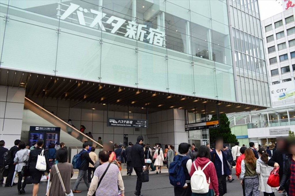 キョウエイアド 交通広告 バスタ新宿