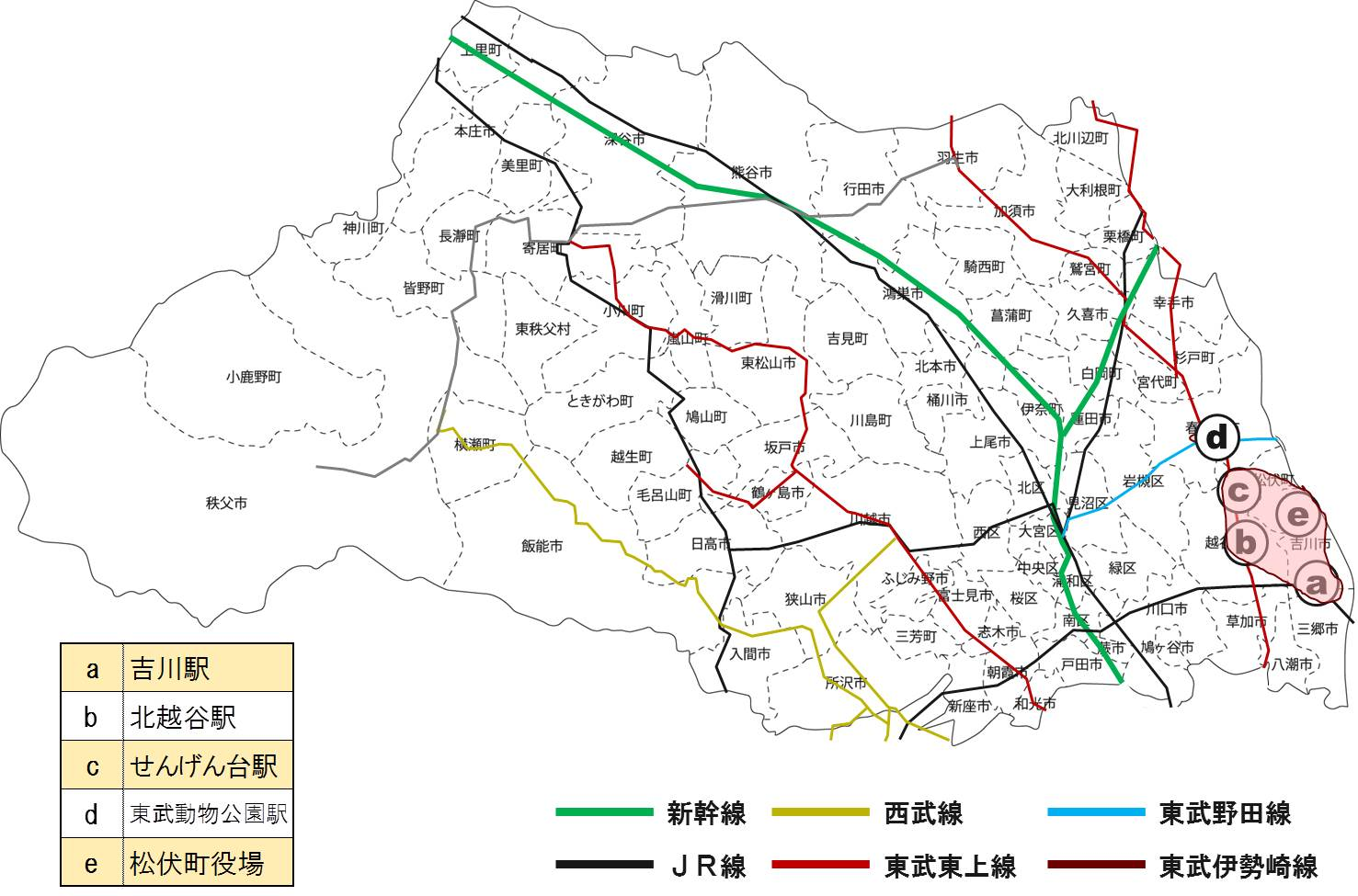 キョウエイアド 交通広告 埼玉県バス バスマップ