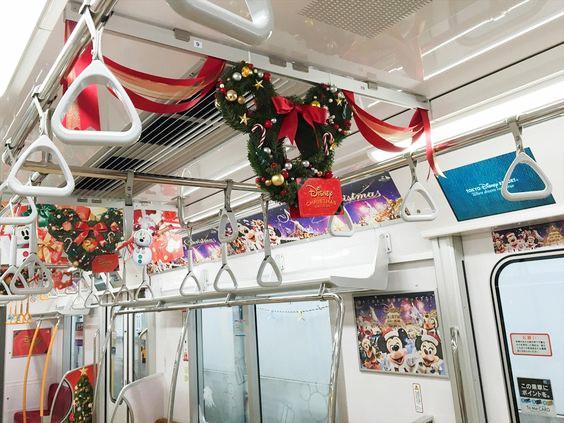 東京ディズニーリゾート・ディズニークリスマス|,東京メトロUライナー+車体 2016.11