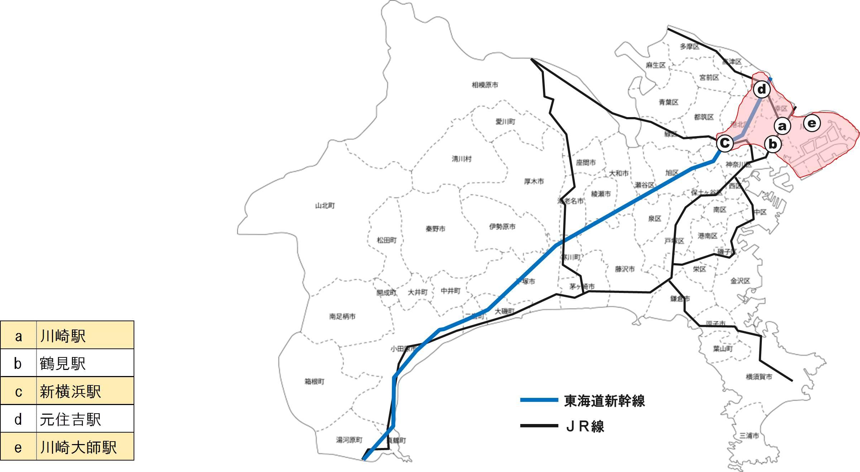 キョウエイアド 交通広告 神奈川県 バスマップ
