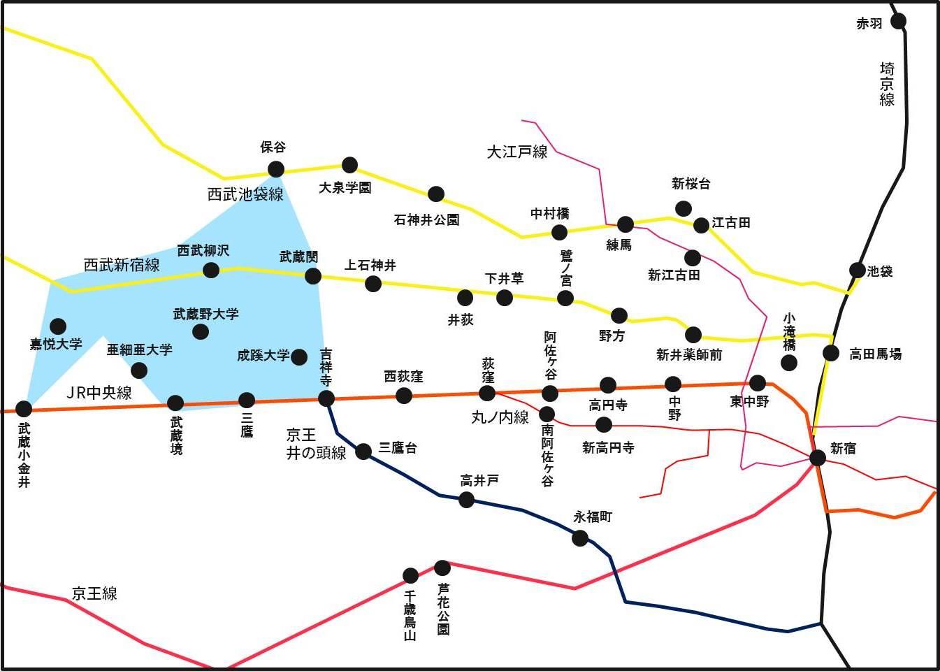 キョウエイアド 交通広告 関東バス 関東バス路線図